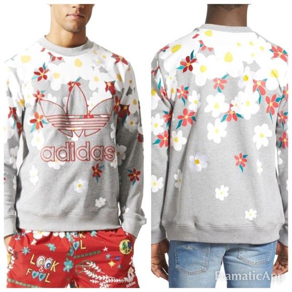 7020d0a66 adidas Other - Adidas Pharrell Williams Daisy Sweatshirt size S